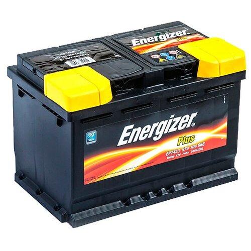 Автомобильный аккумулятор Energizer Plus EP74L3