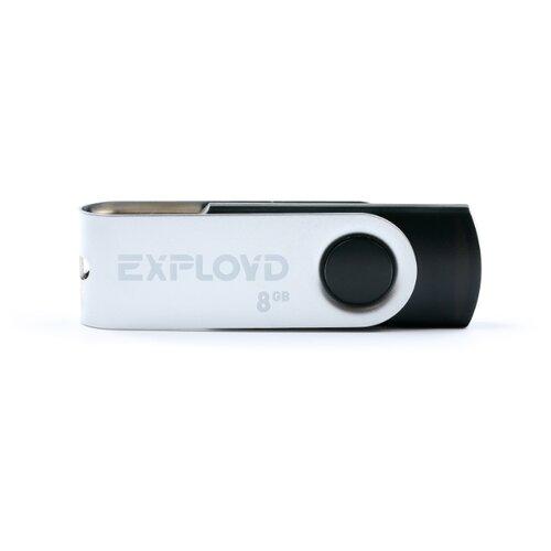 Купить Флешка EXPLOYD 530 8GB black