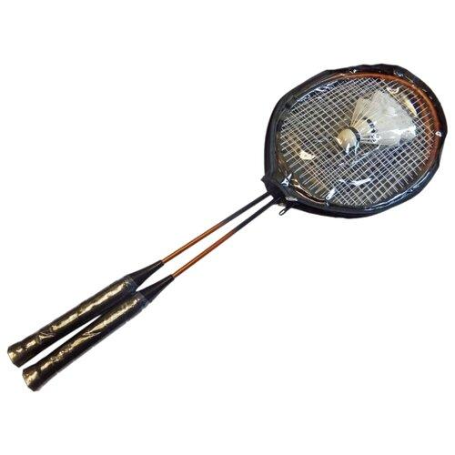 Набор ракеток для бадминтона 2шт Sport Elite HS-003 черный пояс для похудения sport elite rj1001