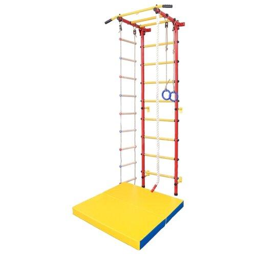 Купить Шведская стенка SportLim DS-12 красный, Игровые и спортивные комплексы и горки