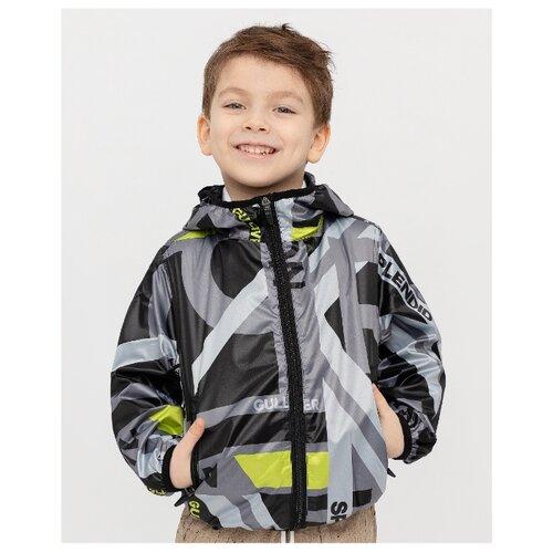 Купить Ветровка Gulliver 12006BMC4002 размер 128, черный, Куртки и пуховики