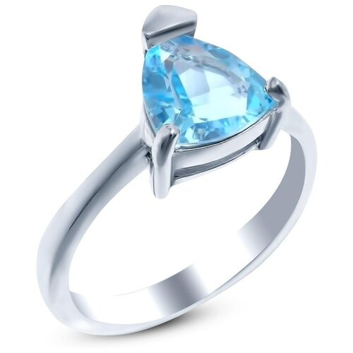 Silver WINGS Кольцо с топазами из серебра 210035-32-71, размер 17 silver wings кольцо с топазами из серебра 210047 32 54 размер 17