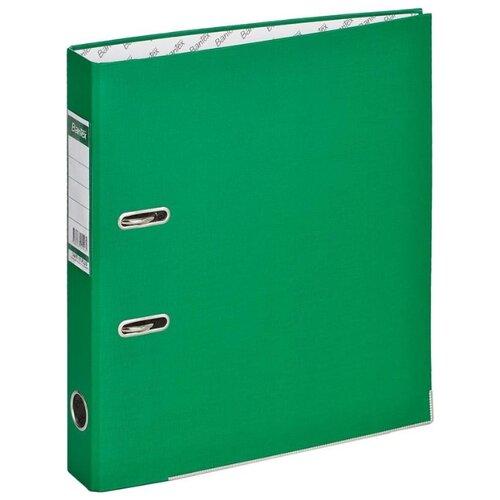 Купить Bantex Папка-регистратор Economy Plus A4, бумвинил, 50 мм зеленый, Файлы и папки