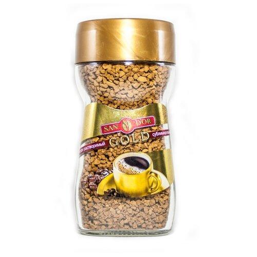 Кофе растворимый SAN D'OR Gold натуральный сублимированный, 95 г