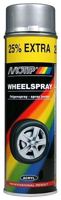 MOTIP аэрозольная автоэмаль Wheelspray