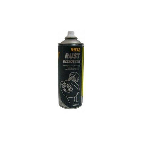 Фото - Очиститель двигателя Mannol Rust Dissolver 0.45 л баллончик очиститель двигателя abro dg 300 r 0 51 кг баллончик
