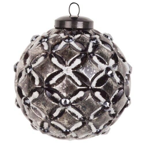 Набор шаров KARLSBACH 07367, черненое серебро, 6 шт.