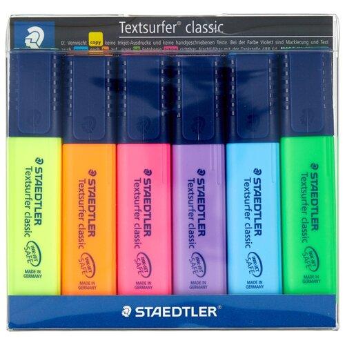 Купить Staedtler Набор маркеров Textsurfer classic, 6 шт. (364 WP6), Маркеры