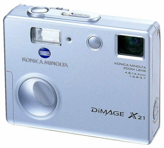 Фотоаппарат Konica Minolta DiMAGE X21