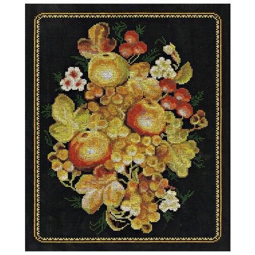 Купить Klart Набор для вышивания Жостовский натюрморт 36 x 26.5 см (8-052), Наборы для вышивания