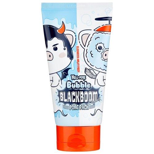 Elizavecca маска Hell-Pore Bubble Blackboom кислородная для очищения пор, 150 мл the skin house зеленая глиняная маска для сужения пор pore tightening clay pack 100 мл