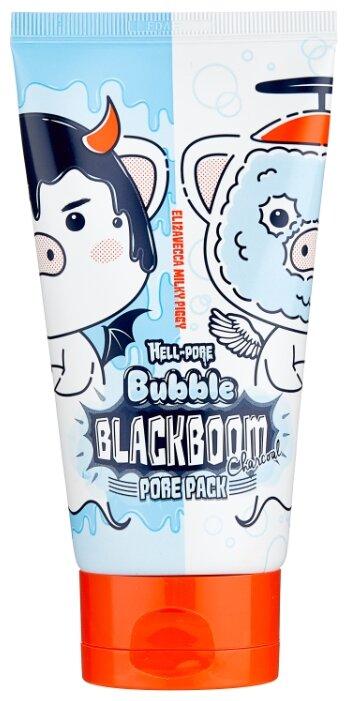 Elizavecca маска Hell-Pore Bubble Blackboom кислородная для очищения пор