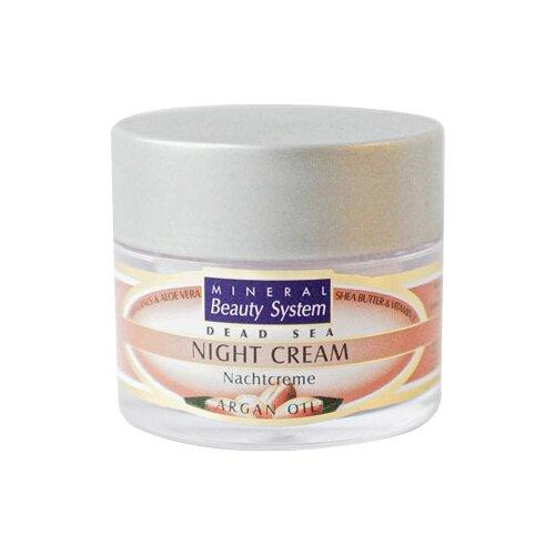 Mineral Beauty System Dead Sea Night Cream Argan Oil, 50 мл chi luxury black seed oil curl defining cream gel