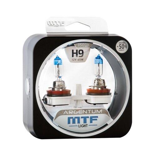 Лампа автомобильная галогенная MTF Argentum +50% H5A1209 Н9 12V 65W 2 шт. лампа автомобильная галогенная celen hod crystal 50