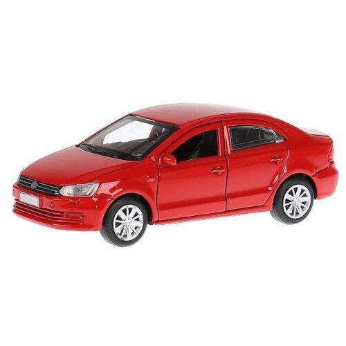 Купить Легковой автомобиль ТЕХНОПАРК Volkswagen Polo 12 см красный, Машинки и техника