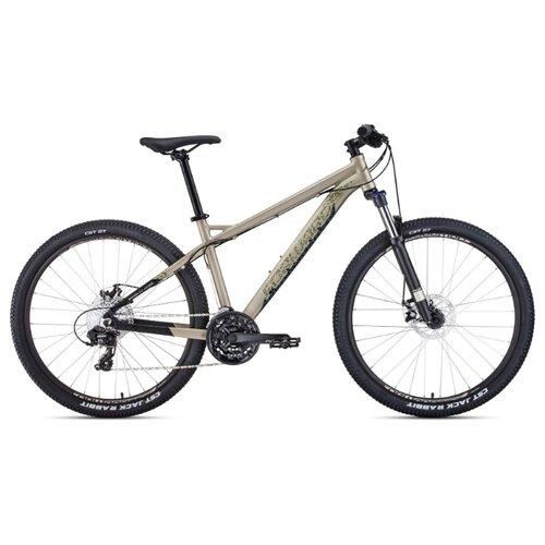 Фото - Горный (MTB) велосипед FORWARD Quadro 27.5 2.0 Disc (2020) бежевый 17 (требует финальной сборки) горный mtb велосипед merida matts 7 20 2020 glossy purple lilac s требует финальной сборки