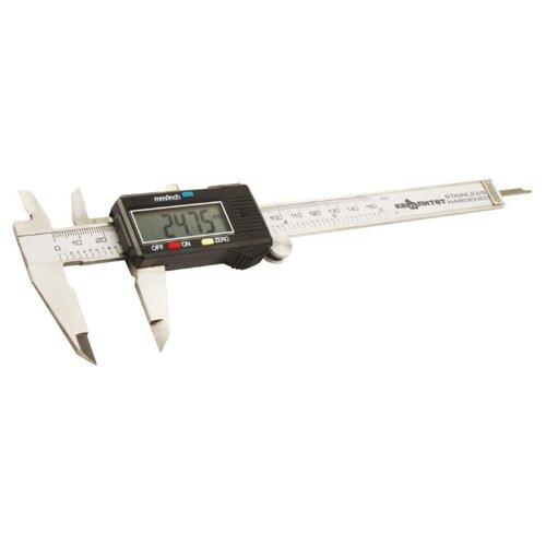 Цифровой штангенциркуль Квалитет ШЦ-150Э 150 мм, 1 мм штангенциркуль туламаш шц 1 150 0 05 101269