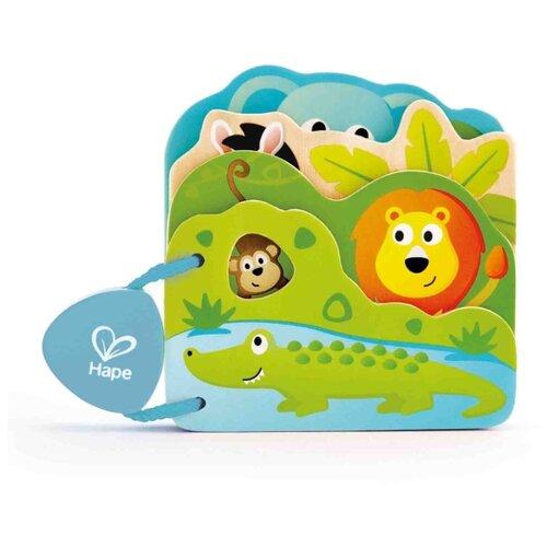 Купить Hape Книжка-игрушка Дикие животные, Книжки-игрушки