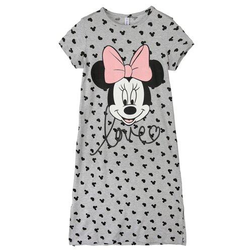 Купить Сорочка playToday размер 152, серый, Домашняя одежда