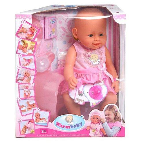Купить Интерактивный пупс Warm baby, 38 см, 8006-418, Куклы и пупсы