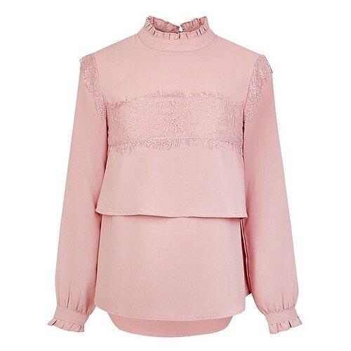 Фото - Блузка Fracomina размер 164, розовый fracomina блузка