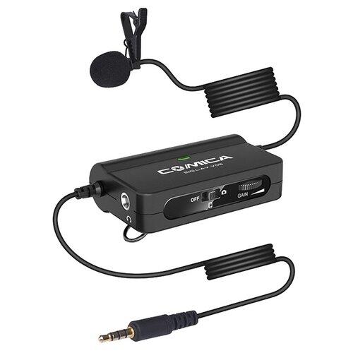 Петличный микрофон Comica CVM-SIG.LAV V05 miniJack 3.5 мм