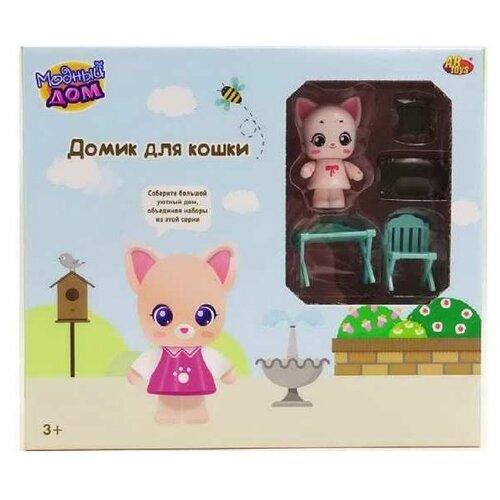 Игровой набор ABtoys Модный дом. Домик для кошки. Спальня PT-01312