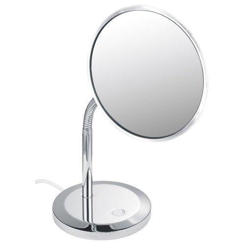 Зеркало косметическое настольное KEUCO Elegance (17677019000) с подсветкой хром