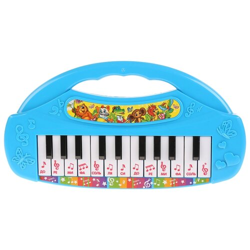 Купить Умка пианино B1434781-R1 голубой, Детские музыкальные инструменты