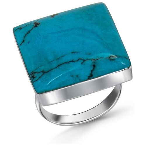 Silver WINGS Кольцо с бирюзой из серебра 21jr30162-28, размер 17 silver wings кольцо с бирюзой из серебра 21set10724 113 размер 17