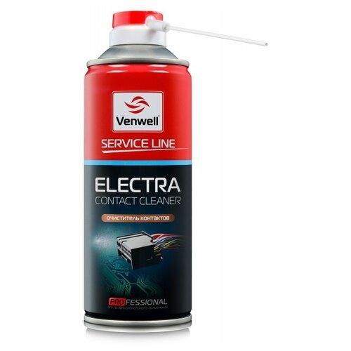Очиститель электропроводки Venwell Electra Contact cleaner 0.4 л баллончик