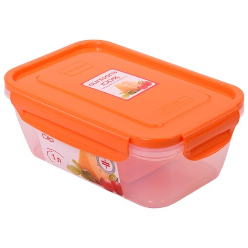 Oursson Контейнер CP1004S, оранжевый/прозрачный oursson контейнер cp1304s оранжевый прозрачный