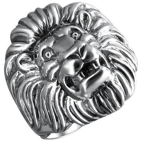 Эстет Кольцо из чернёного серебра С21К0501511Ч, размер 22.5