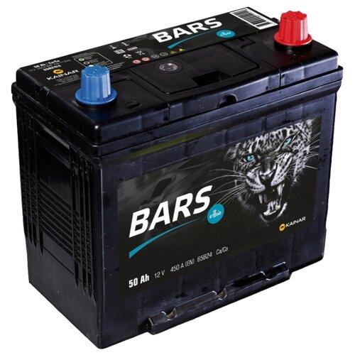 цена на Автомобильный аккумулятор BARS Asia 6СТ-50 АПЗ о.п 65B24LS