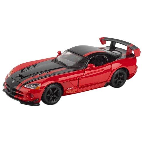 Купить Легковой автомобиль Bburago Dodge Viper SRT-10 (18-22114) 1:24 красный/черный, Машинки и техника