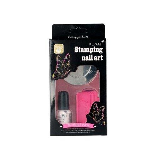 Набор Konad Stamping Nail Art Set белый недорого