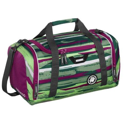 Сумка спортивная Coocazoo SporterPorter Bartik, зеленый/розовый coocazoo рюкзак jobjobber2 bartik 00138718 зеленый розовый