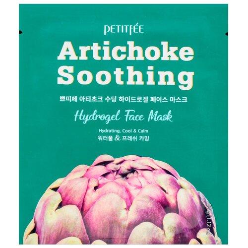 Купить Petitfee Artichoke Soothing гидрогелевая маска для лица с экстрактом артишока, 32 г