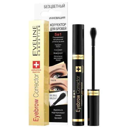 Eveline Cosmetics корректор для стилизации бровей 5в1 Eyebrow Corrector (в коробке) бесцветный rituals cosmetics купить в барселоне