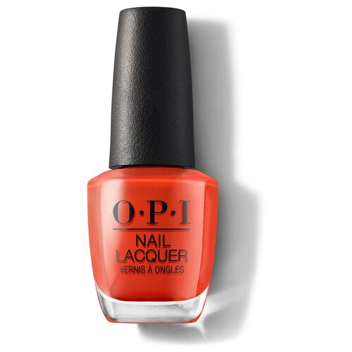 Лак OPI Nail Lacquer Lisbon, 15 мл, A Red-vival City лак opi nail lacquer lisbon 15 мл оттенок no turning back from pink street