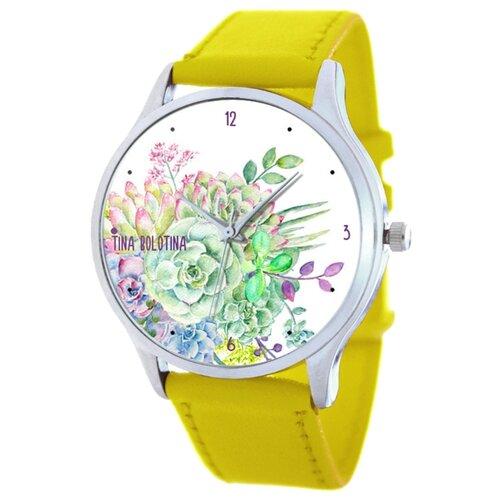 Наручные часы TINA BOLOTINA Суккуленты Extra будильник tina bolotina лондон awo 009