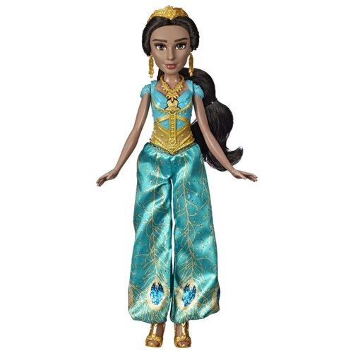 Купить Интерактивная кукла Hasbro Disney Aladdin Поющая Жасмин, 35 см, E5442, Куклы и пупсы