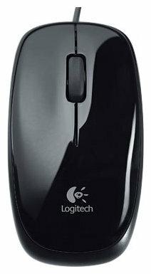Мышь Logitech Mouse M115 Black USB