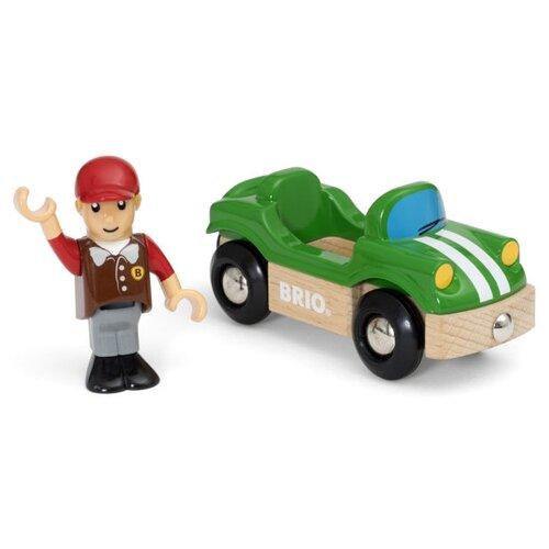 Игровой набор Brio Спортивная машинка 33937 игровой набор brio девочка на