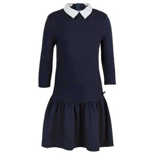 Купить Платье Gulliver размер 122, синий, Платья и сарафаны