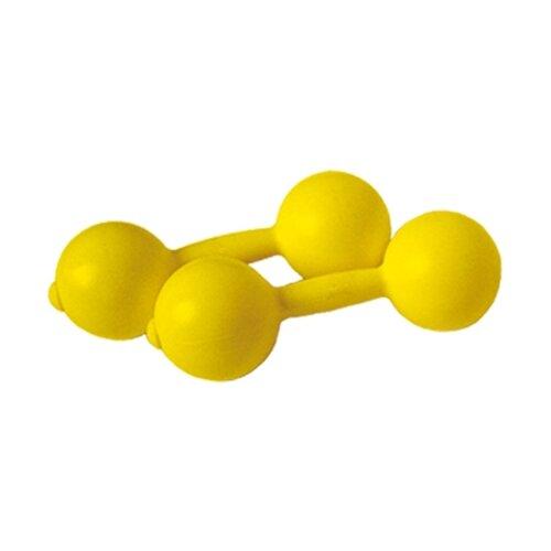 Набор гантелей неразборных СТРОМ У648 2х0,45 кг желтый
