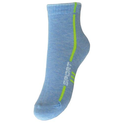 Носки Гамма размер 18-20, светло-голубой меланж носки nexx размер 18 20 см голубой