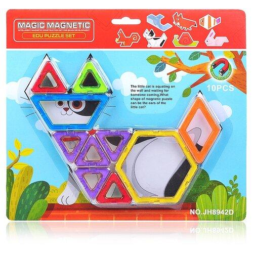 Купить Магнитный конструктор Наша игрушка Magic Magnetic JH8942D, Конструкторы