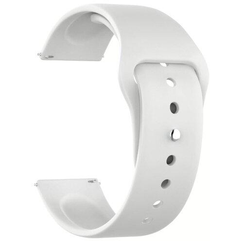 Lyambda Универсальный силиконовый ремешок Altair для часов 22 mm белый