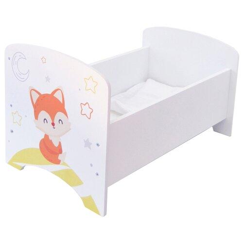 Купить PAREMO Кроватка Мимими Крошка Лия (PFD120-91) белый, Мебель для кукол